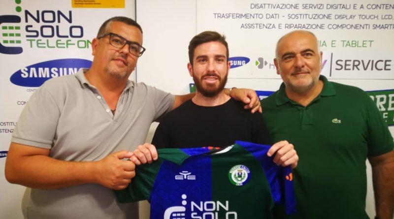 Rientra in verdeazzurro il centrocampista nuorese Giulio Pinna
