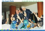 Il presidente Ignazio Sechi e il mister Alberto Conti